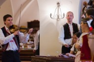17._Conference_in_Prague_-_Monastery_restaurant_-_Traditional_dancing__music